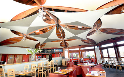 Fabric Ceiling Sails example