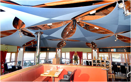 commercial shade sails example