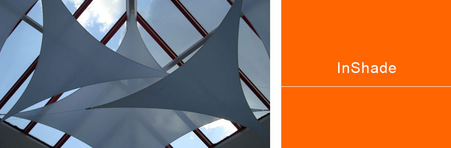 photo of our commercial shade sails solution - inShade